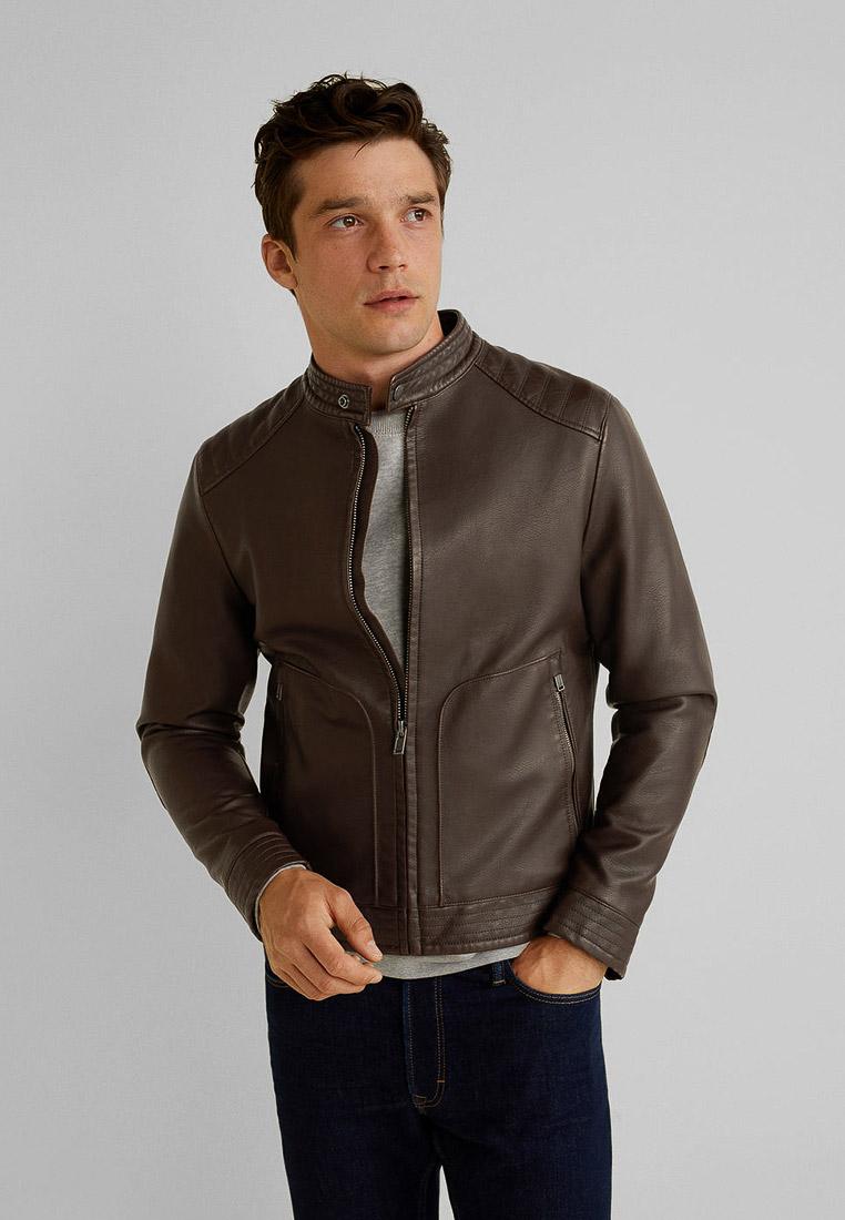 Кожаная куртка Mango Man 53010513: изображение 1