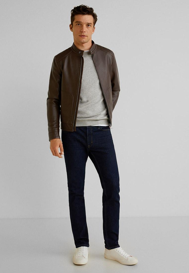 Кожаная куртка Mango Man 53010513: изображение 2