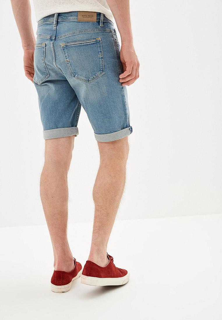 Мужские джинсовые шорты Mango Man 53050562: изображение 3