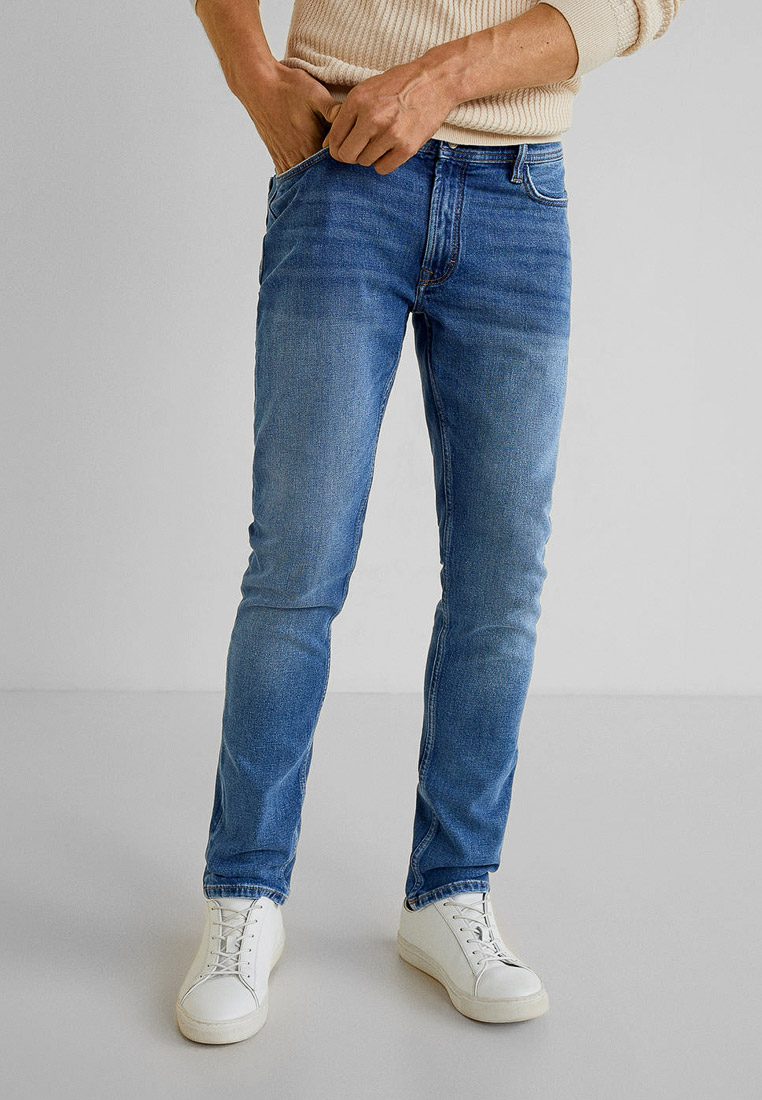 Мужские прямые джинсы Mango Man 53020584