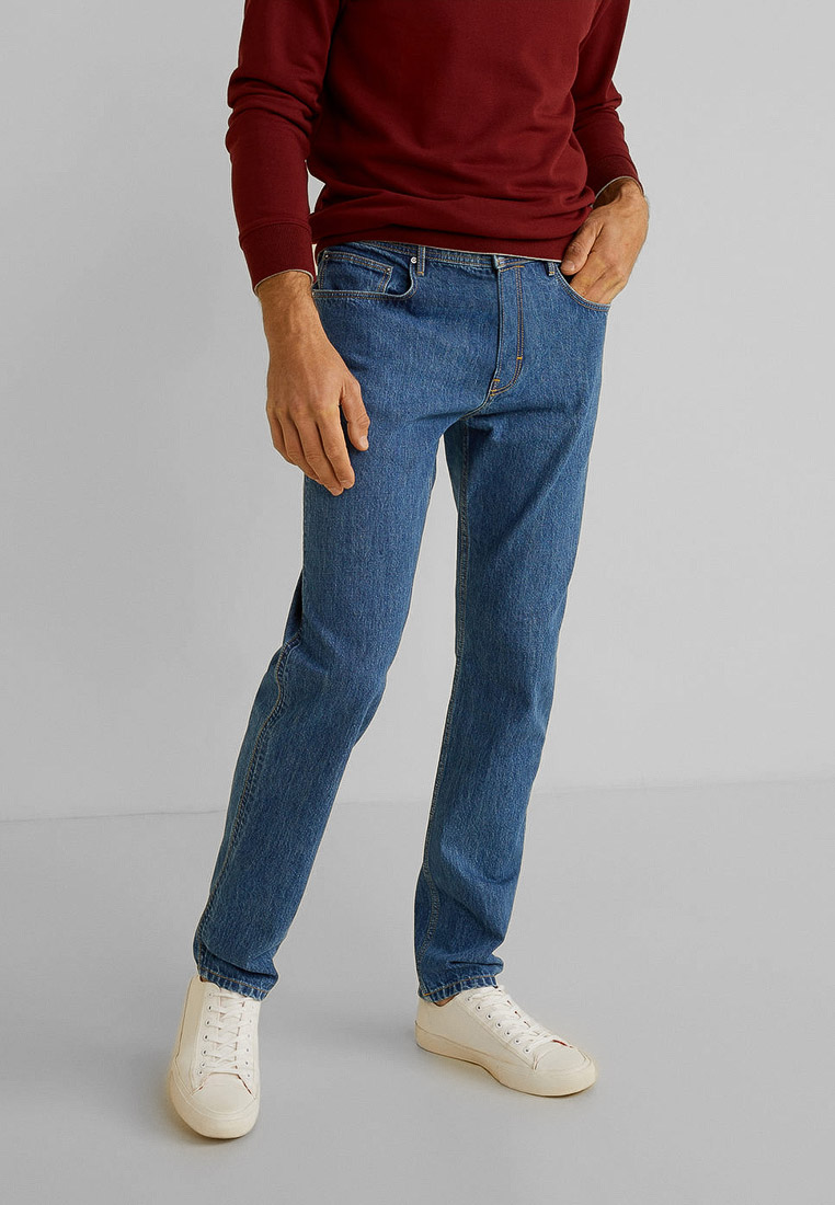Мужские прямые джинсы Mango Man 53093701