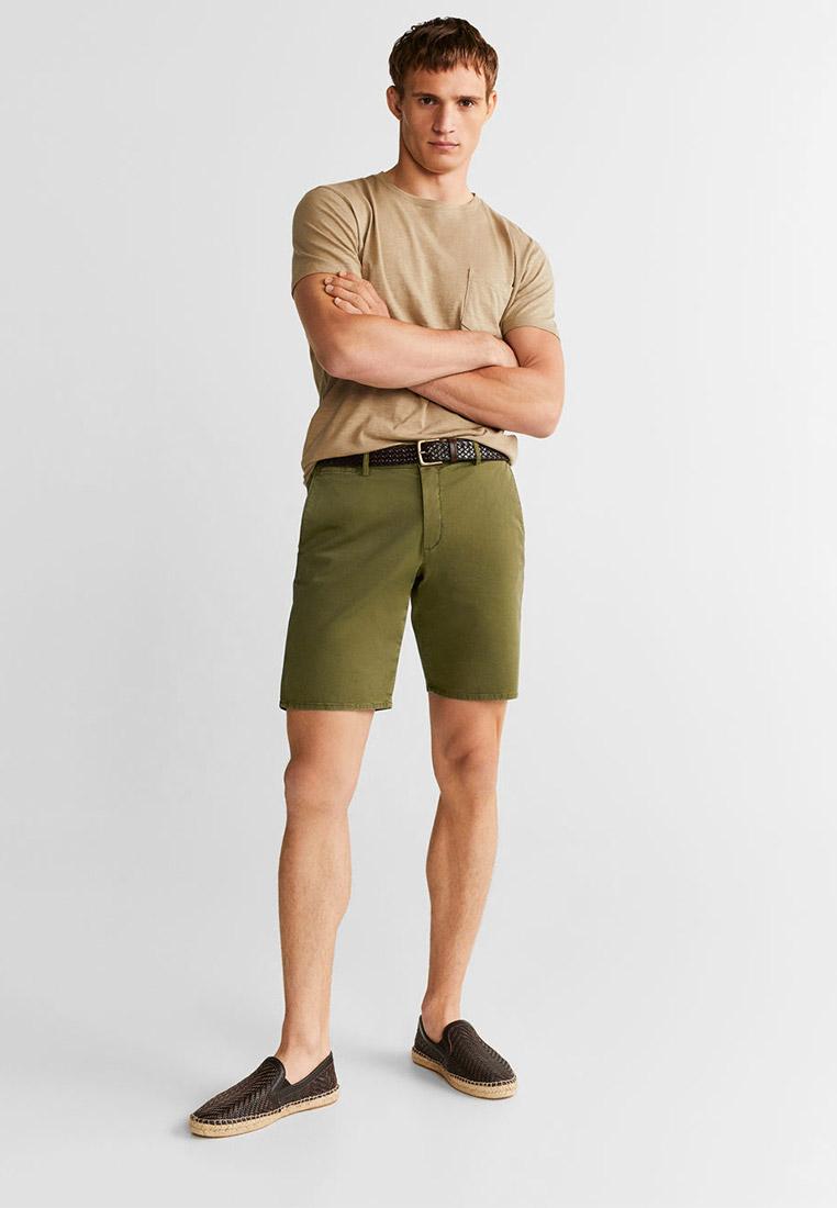 Мужские повседневные шорты Mango Man 53040488: изображение 2