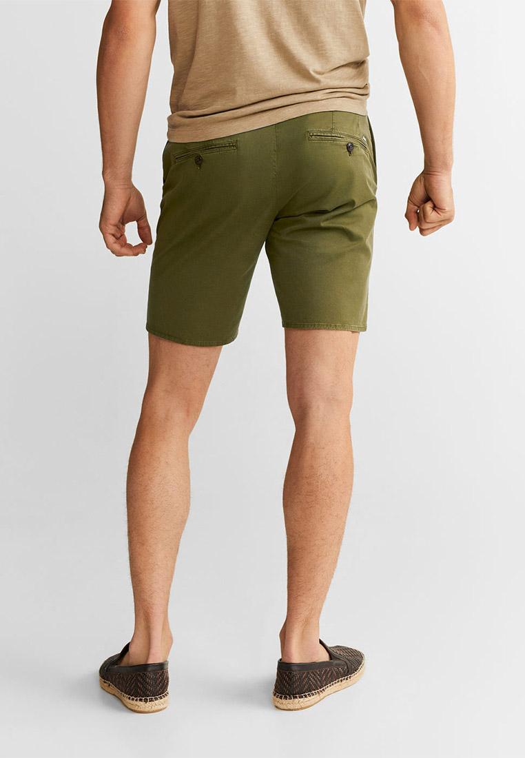 Мужские повседневные шорты Mango Man 53040488: изображение 3