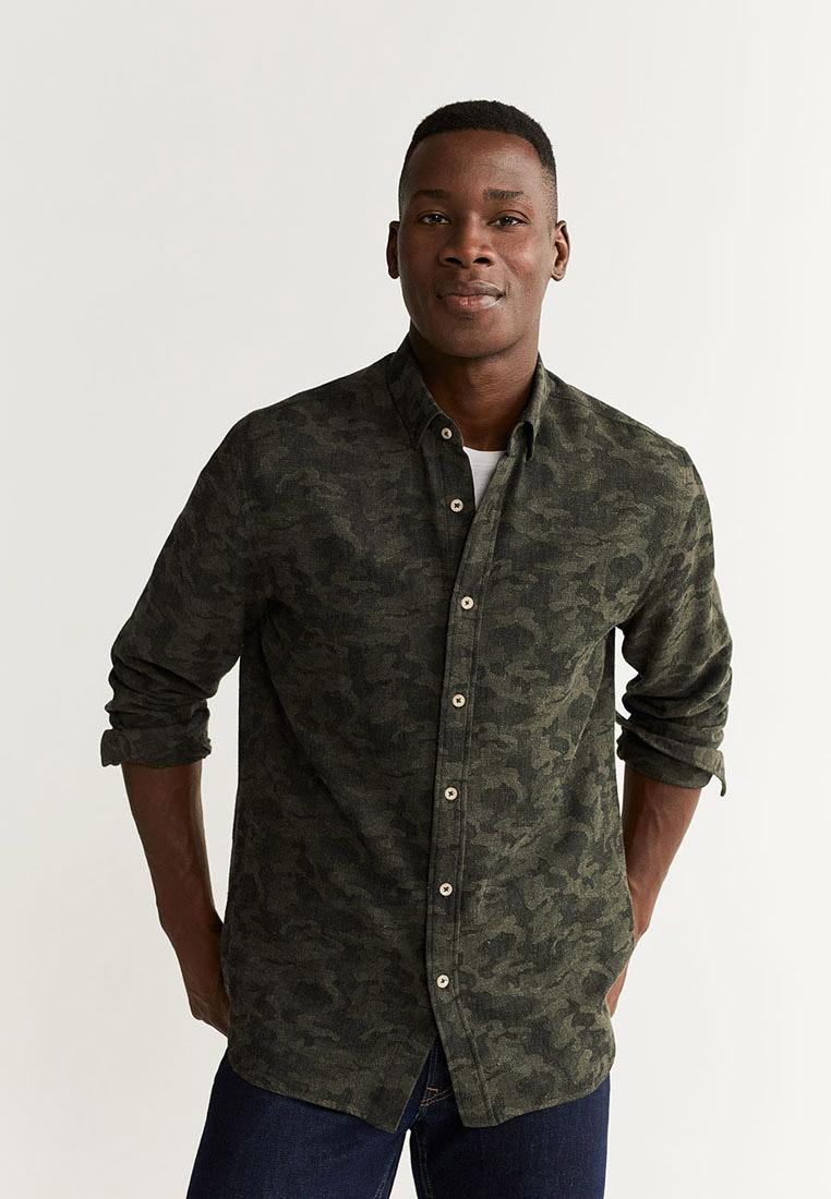 Рубашка с длинным рукавом Mango Man 51033734