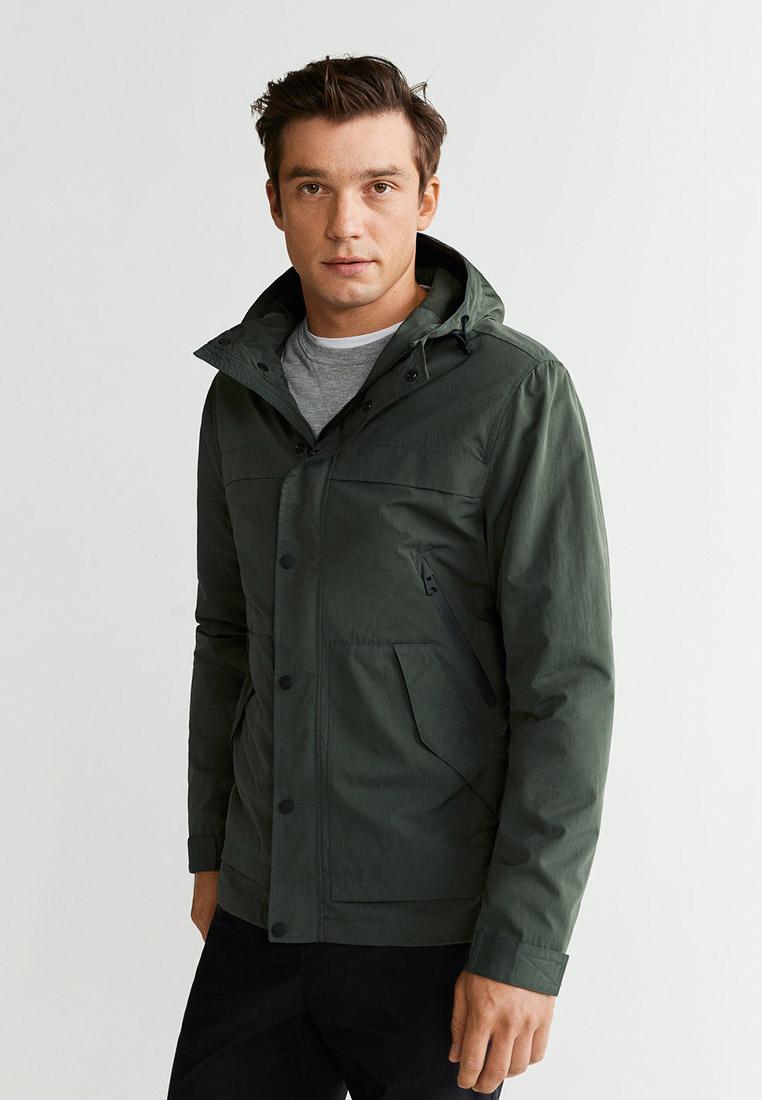 Утепленная куртка Mango Man 53083630