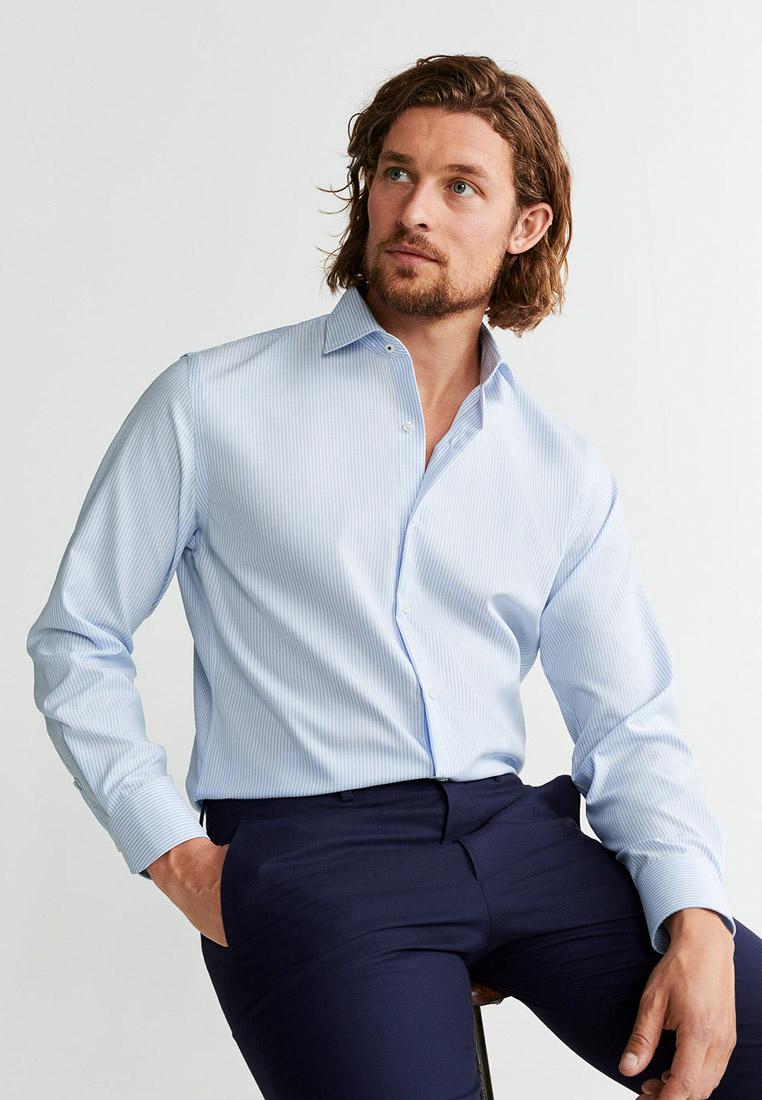 Рубашка с длинным рукавом Mango Man 53000738