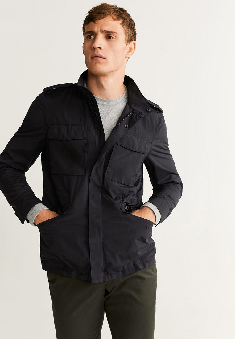 Утепленная куртка Mango Man 53063694