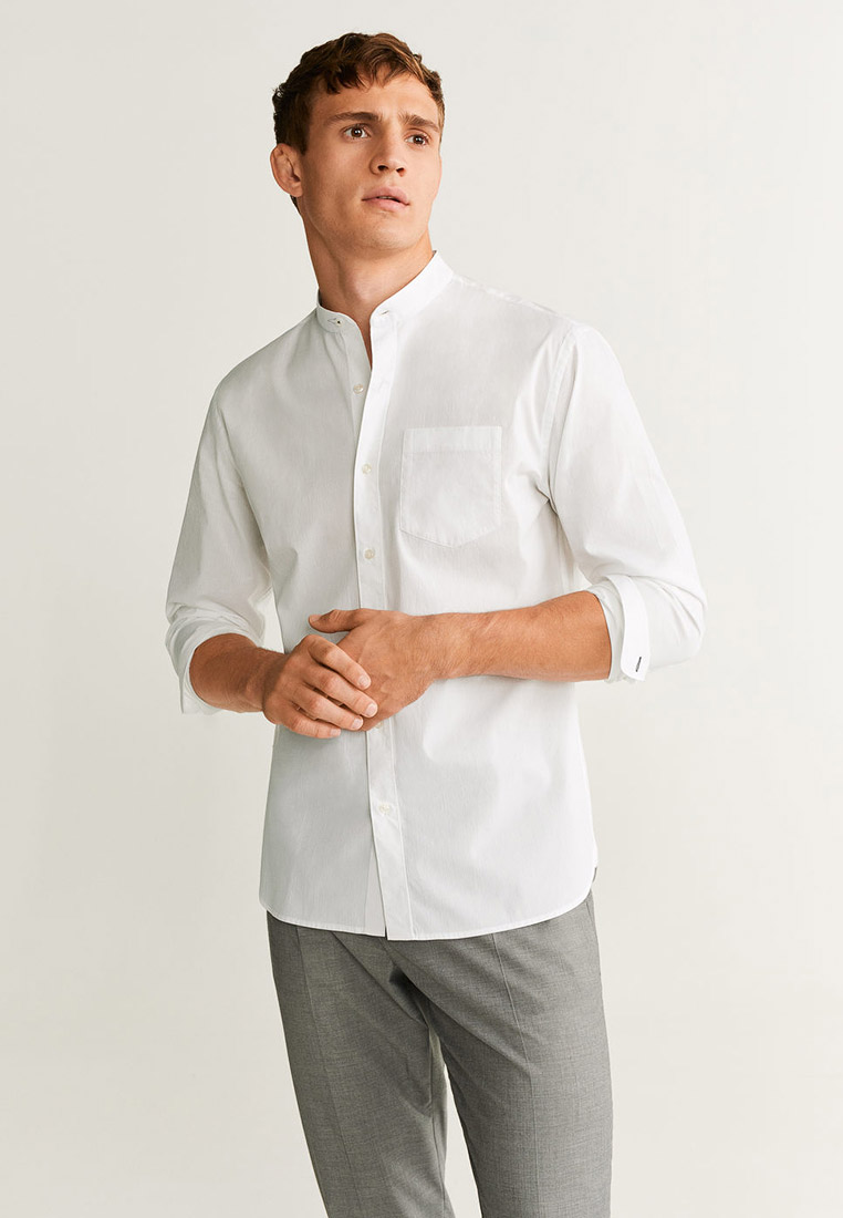 Рубашка с длинным рукавом Mango Man 53063728