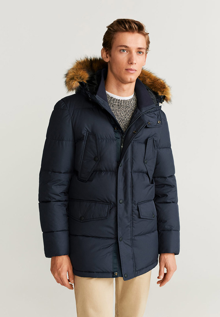 Утепленная куртка Mango Man 53007501