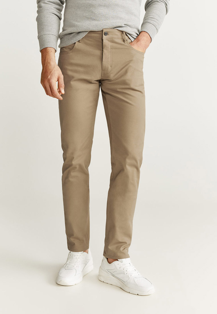Мужские зауженные брюки Mango Man 67000520
