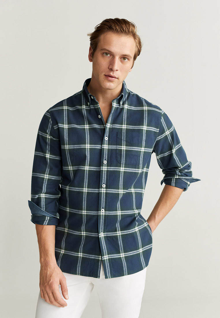 Рубашка с длинным рукавом Mango Man 67050509