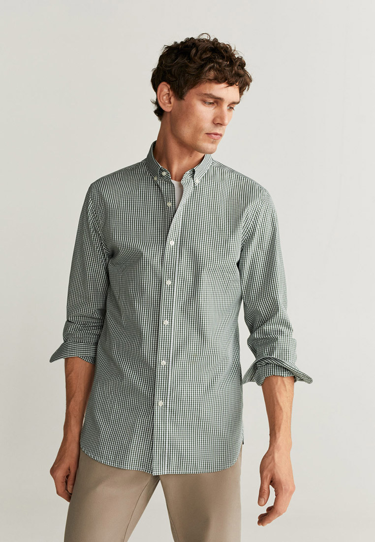Рубашка с длинным рукавом Mango Man 67080502