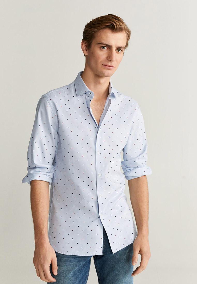 Рубашка с длинным рукавом Mango Man 67002885