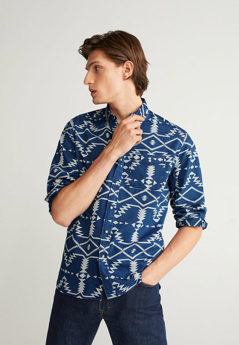 Рубашка с длинным рукавом Mango Man 67012503