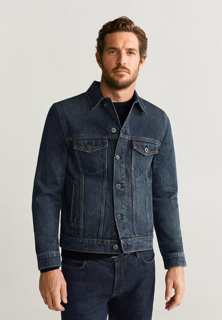 Джинсовая куртка Mango Man 67062877