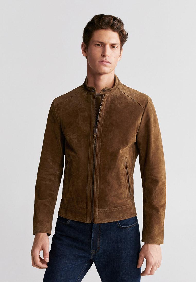 Кожаная куртка Mango Man 67070518