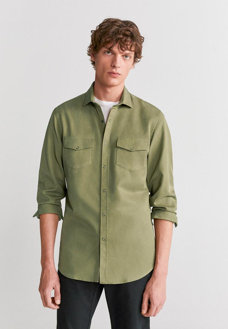 Рубашка с длинным рукавом Mango Man 67044388
