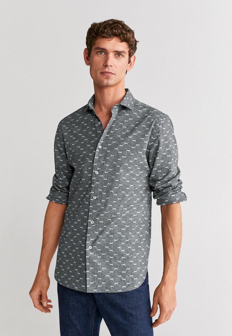 Рубашка с длинным рукавом Mango Man 67034389