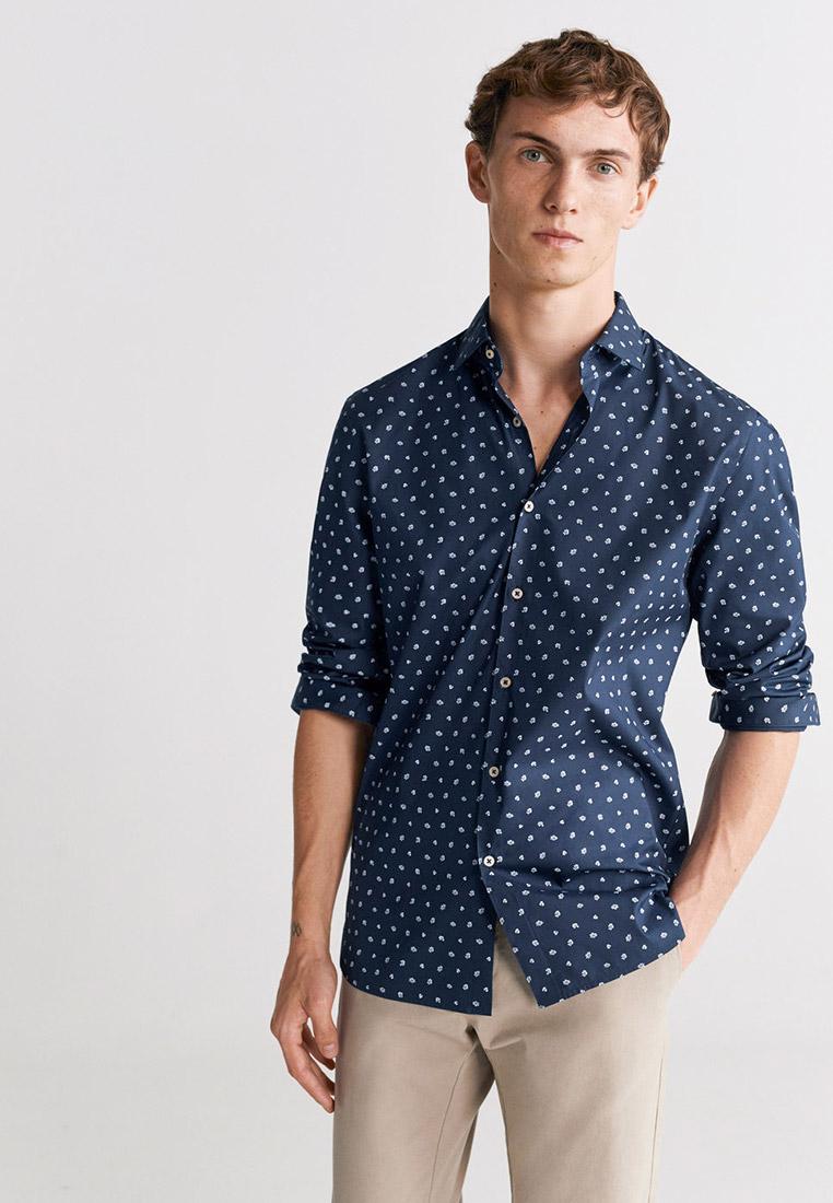 Рубашка с длинным рукавом Mango Man 67074383