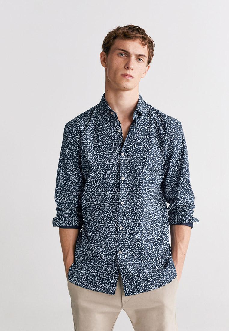 Рубашка с длинным рукавом Mango Man 67084382