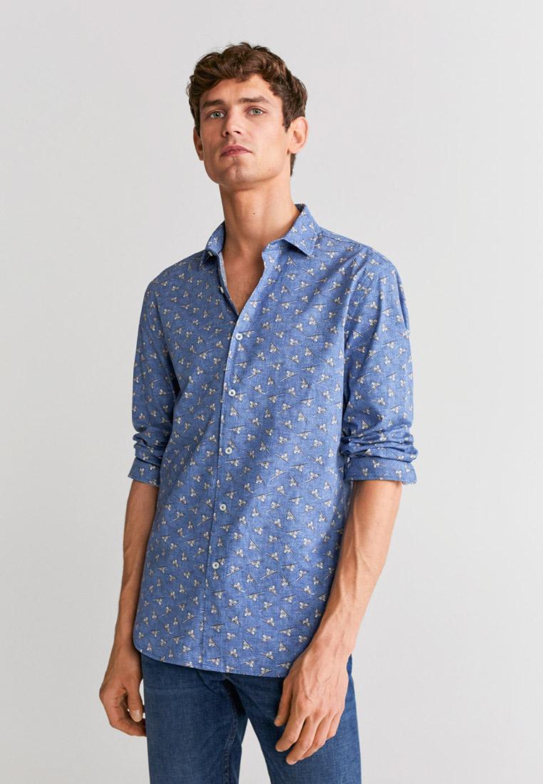 Рубашка с длинным рукавом Mango Man 67014391