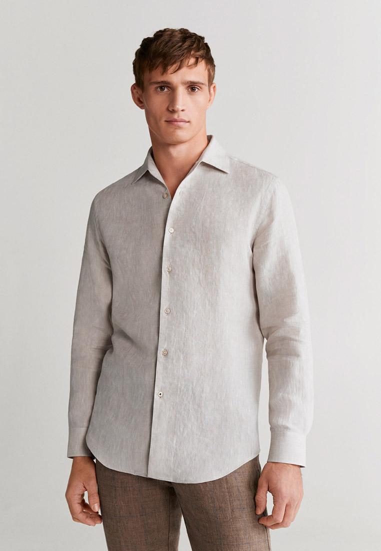 Рубашка с длинным рукавом Mango Man 67035909