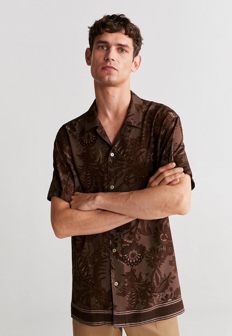 Рубашка с длинным рукавом Mango Man 67084765