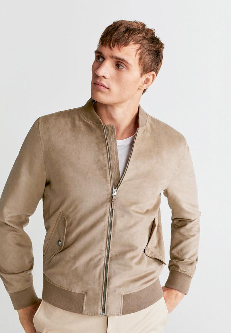 Кожаная куртка Mango Man 67005902