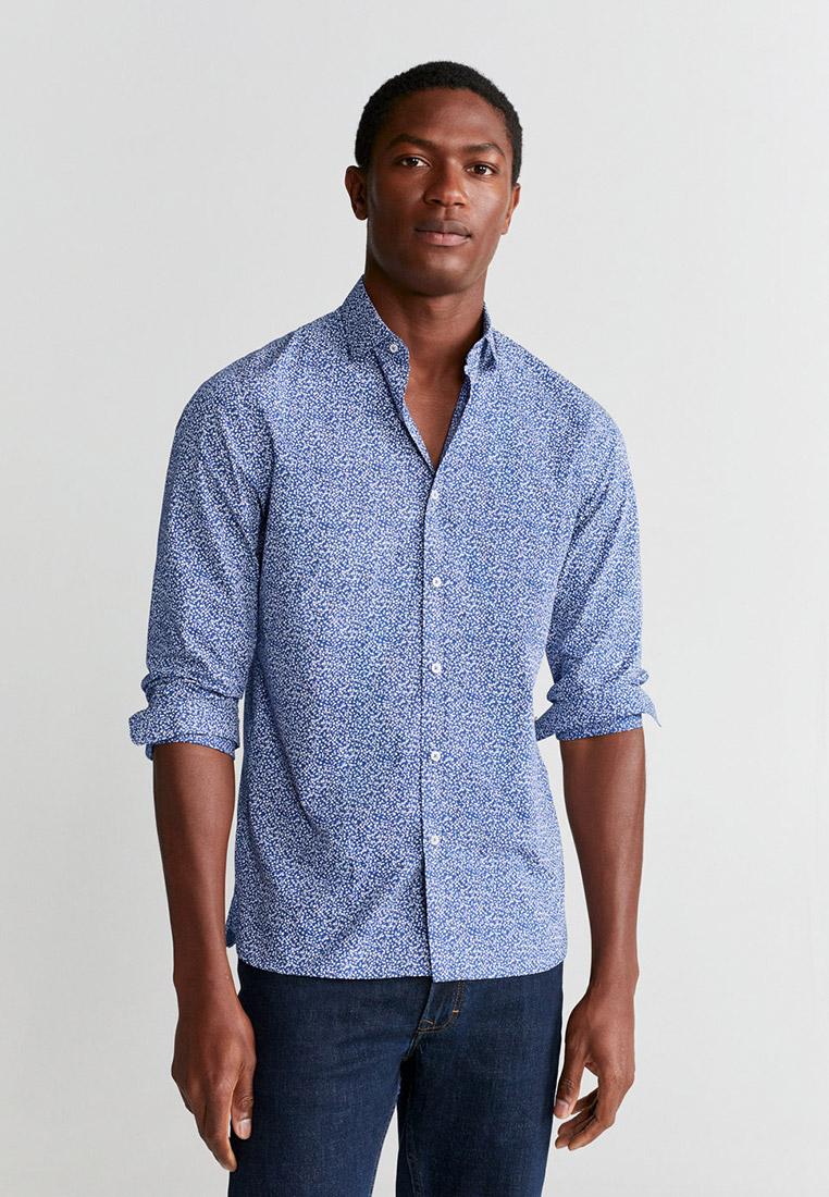 Рубашка с длинным рукавом Mango Man 67065913