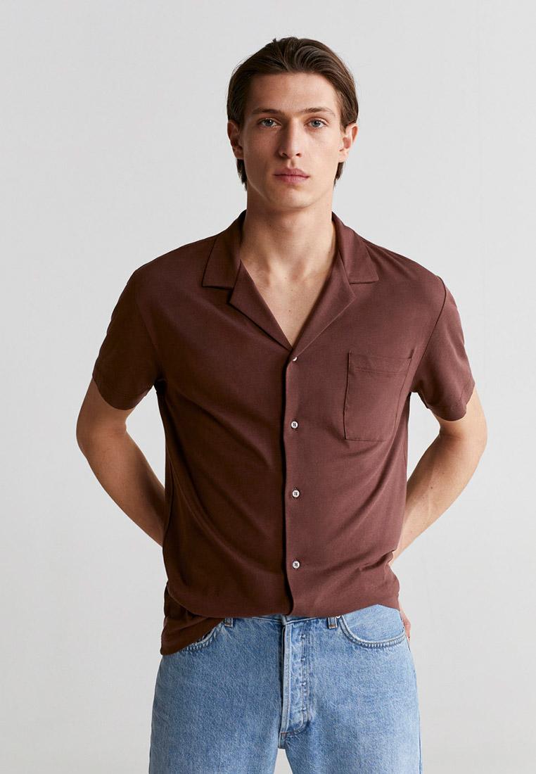 Рубашка с коротким рукавом Mango Man 67067649