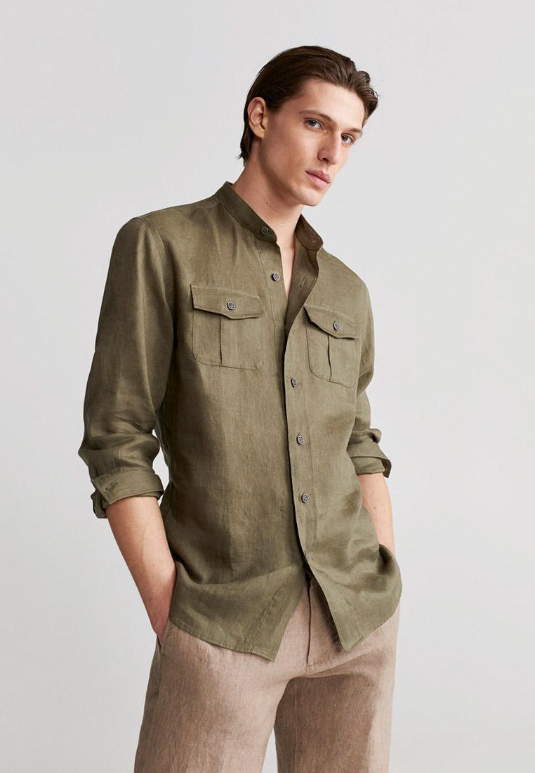 Рубашка с длинным рукавом Mango Man 67077642