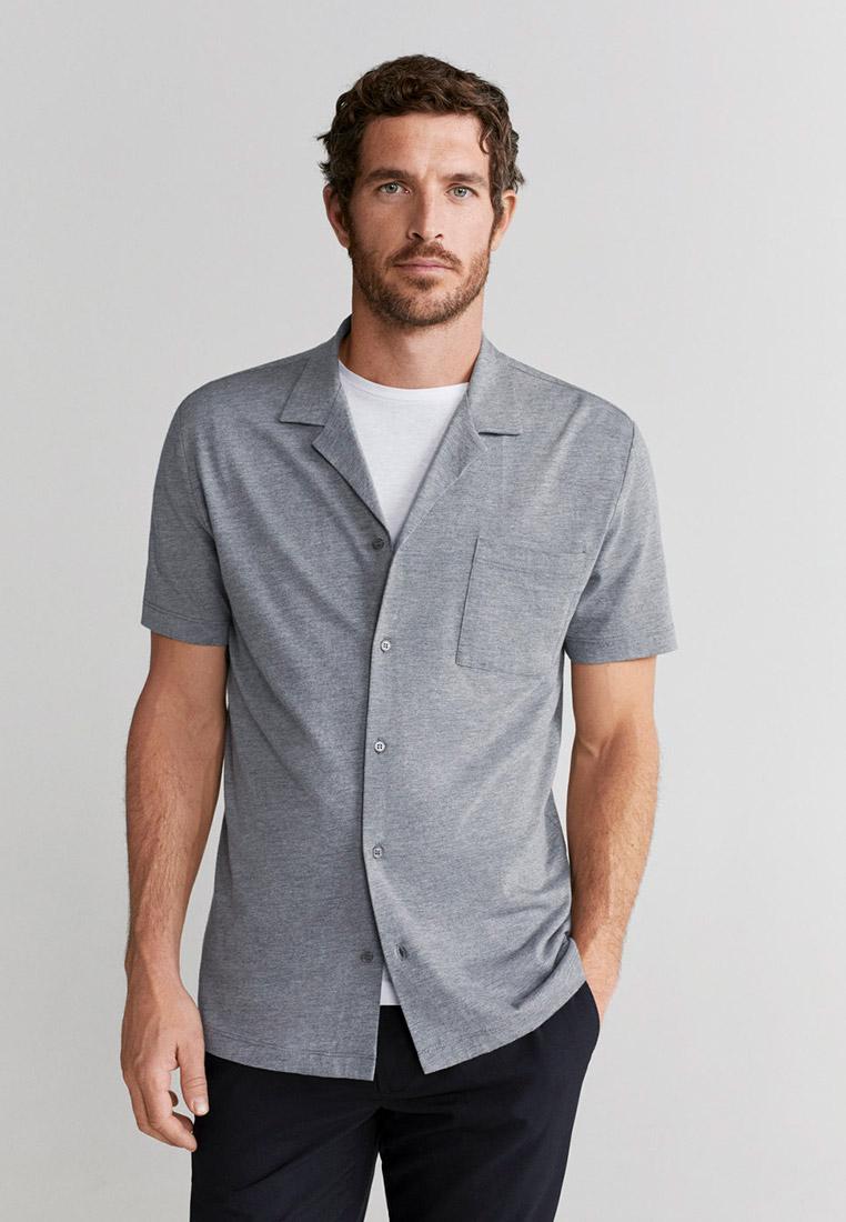 Рубашка с длинным рукавом Mango Man 67067649