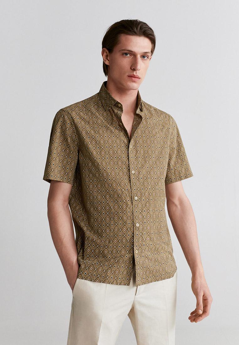 Рубашка с коротким рукавом Mango Man 67007651