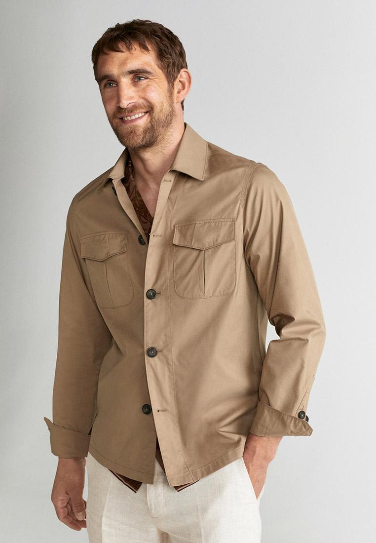 Рубашка с длинным рукавом Mango Man 67018255