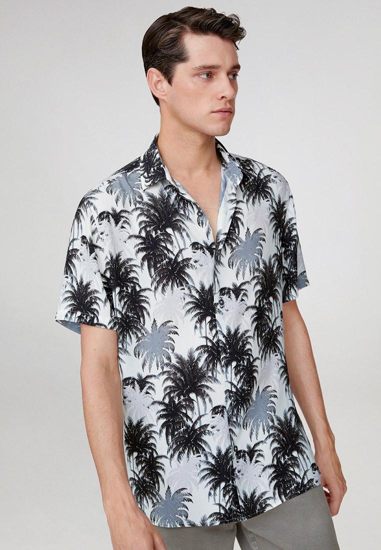 Рубашка с коротким рукавом Mango Man 77010003