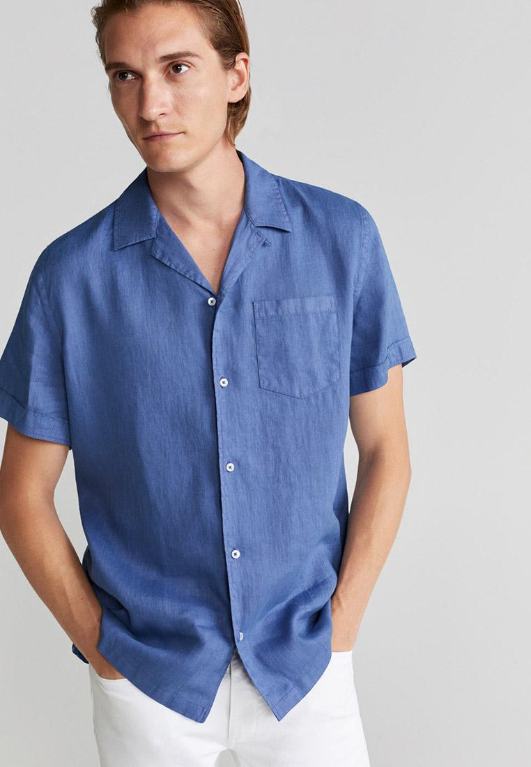 Рубашка с коротким рукавом Mango Man 77080503