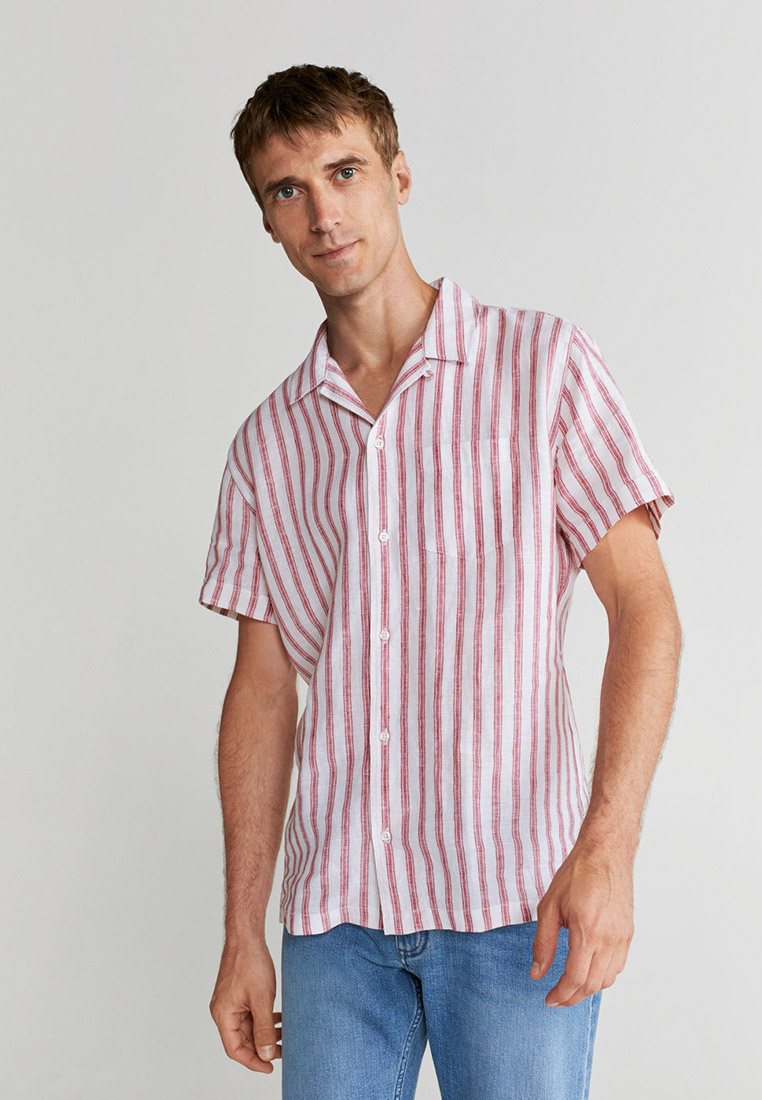 Рубашка с коротким рукавом Mango Man 77000512