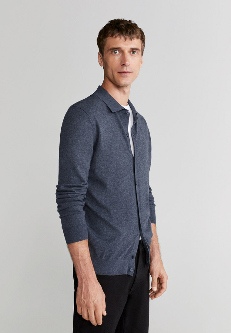 Рубашка с длинным рукавом Mango Man 77080504