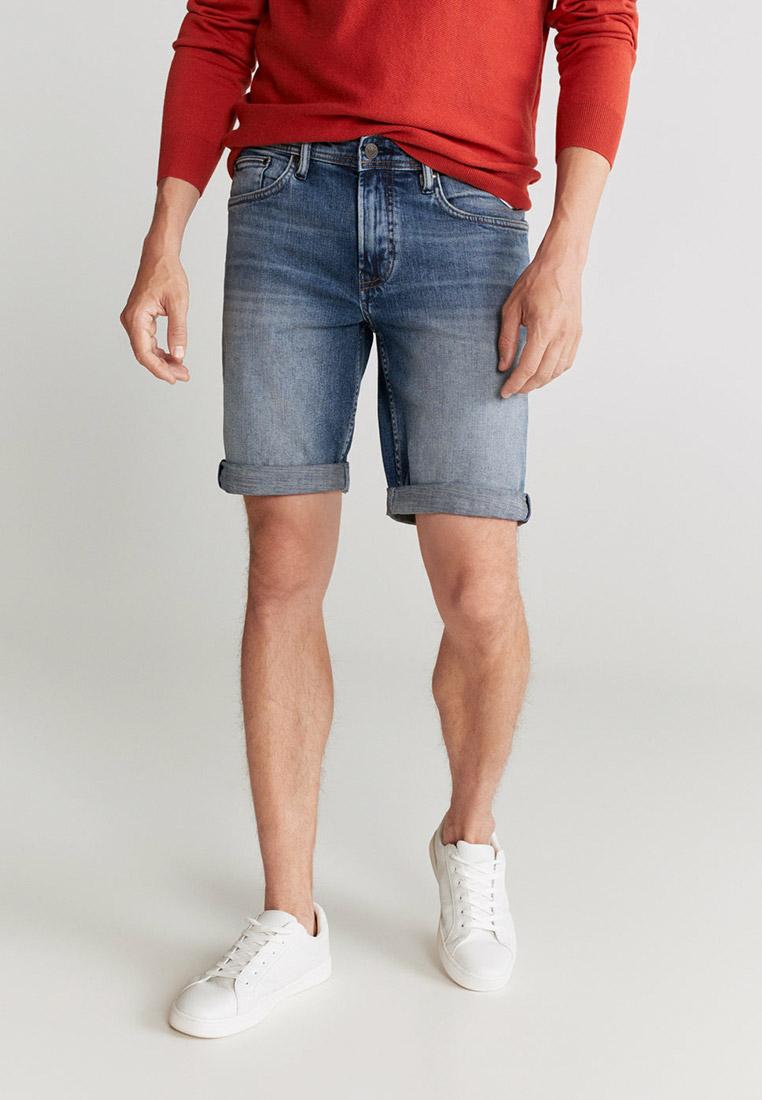 Мужские джинсовые шорты Mango Man 77040520