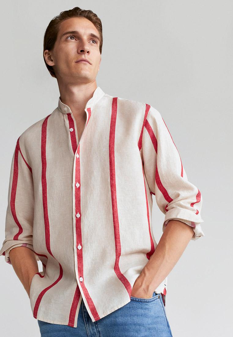 Рубашка с длинным рукавом Mango Man 77050505
