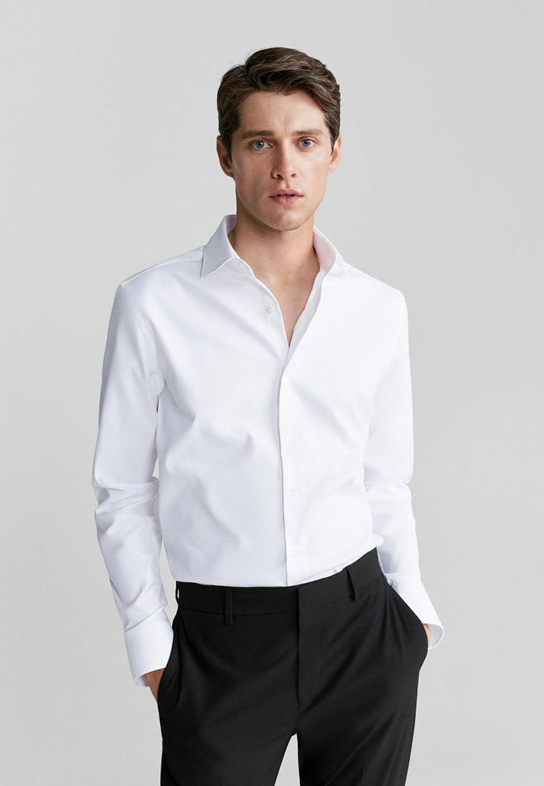 Рубашка с длинным рукавом Mango Man 77010504