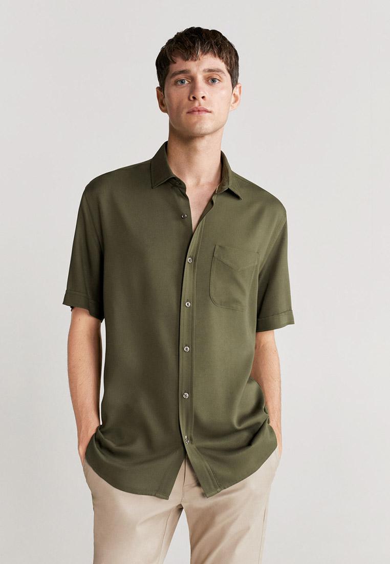Рубашка с коротким рукавом Mango Man 77012515