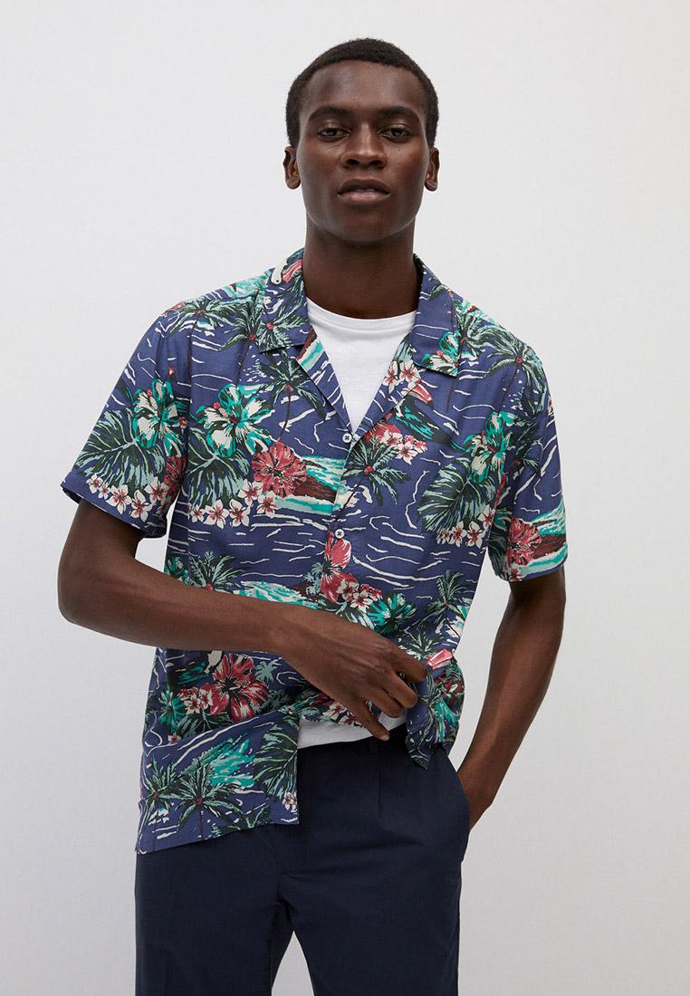 Рубашка с длинным рукавом Mango Man 77010509