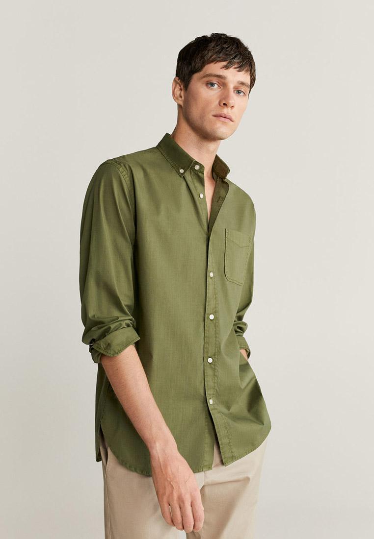 Рубашка с длинным рукавом Mango Man 77042502