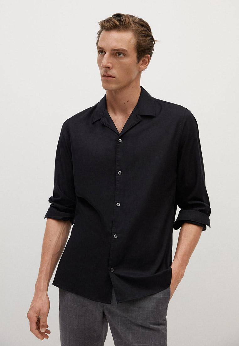 Рубашка с длинным рукавом Mango Man 77054378