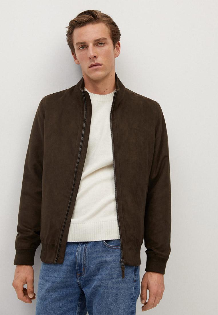 Кожаная куртка Mango Man 77000502