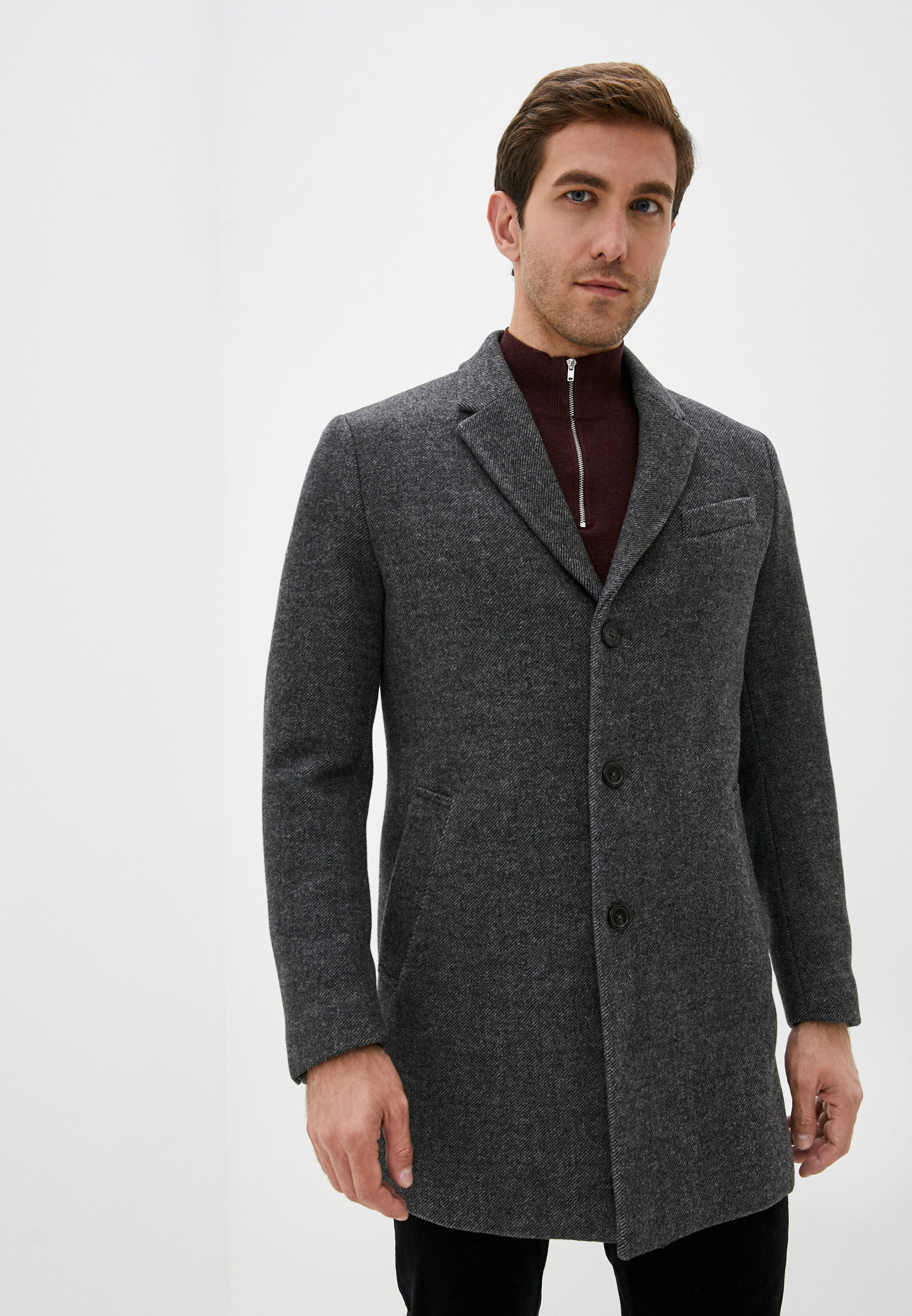 Мужские пальто Mango Man 77815902