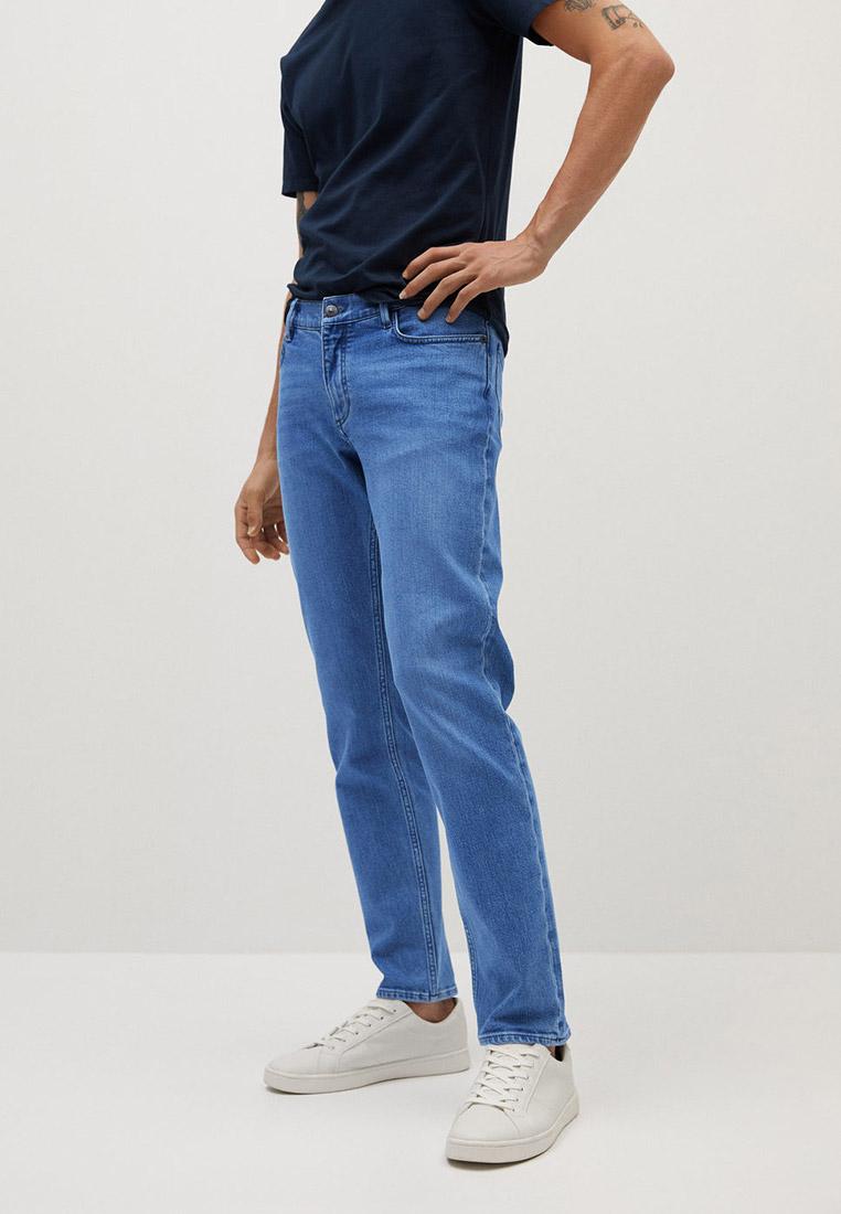 Мужские прямые джинсы Mango Man 77040519