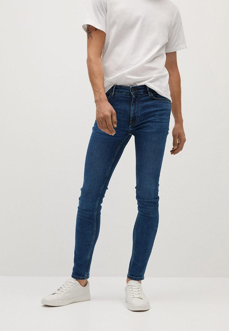 Зауженные джинсы Mango Man 77010525