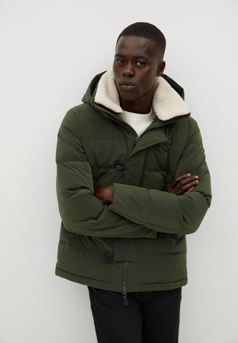 Утепленная куртка Mango Man 77016704